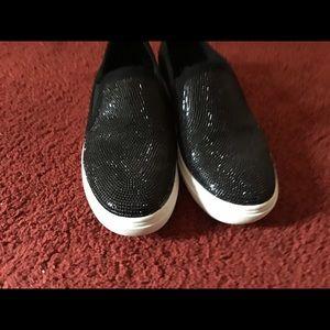 Black Bling Shoes 6.5